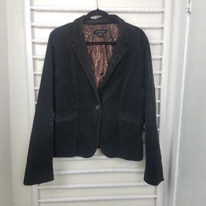 Calvin Klein Jeans| Black Cordoroy Blazer Jacket